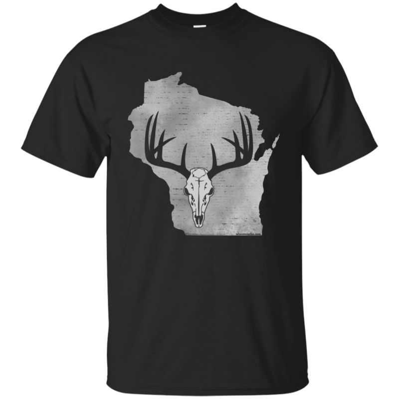 Wisconsin Deer Hunter Mens T-Shirt