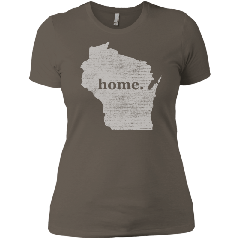 Wisconsin Home Womens T-Shirt