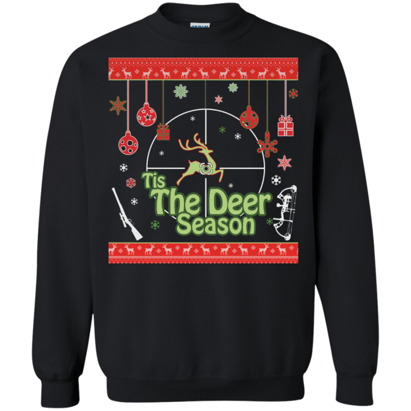 Tis The Deer Season – Heavy Weight Ugly Christmas Sweater
