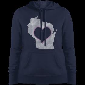 wisconsin home hoodie