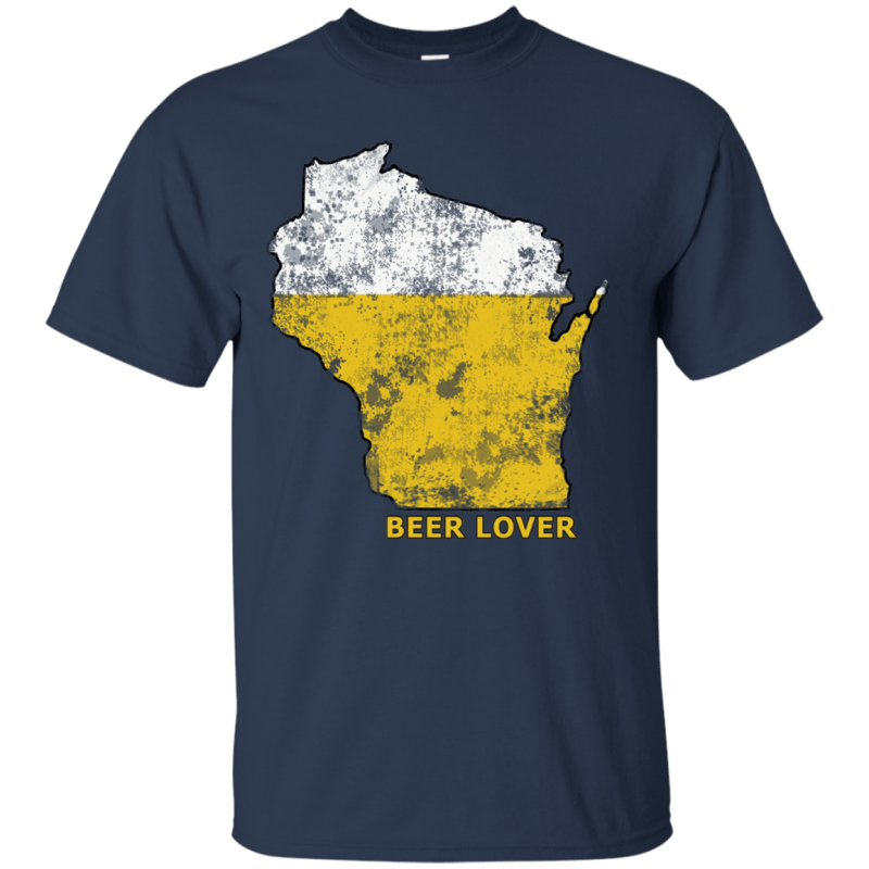 Wisconsin Beer Lover Mens Tshirt