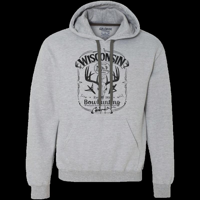 Wisconsin P&Y Bowhunting Sweatshirt Hoodie