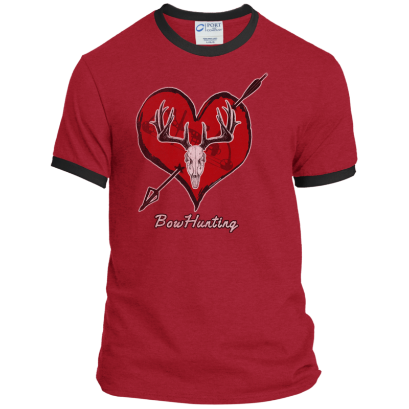 Love Bowhunting Ringer Tee
