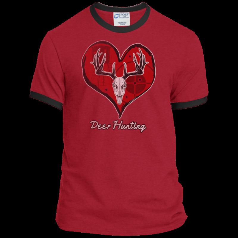 Love Deer Hunting Ringer Tee