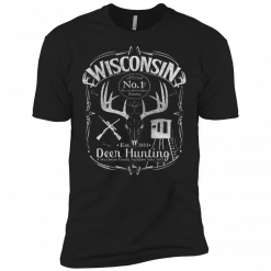 wisconsin deer hunting t shirts