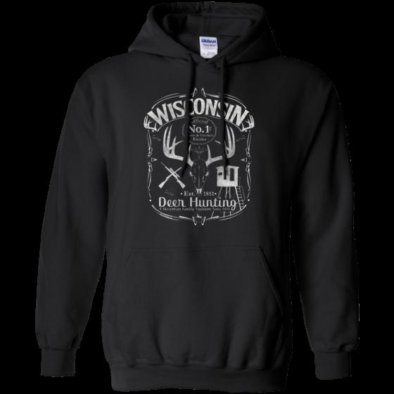 wi deer hunting hoodie
