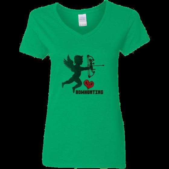 womens bow hunting graphic tshirt