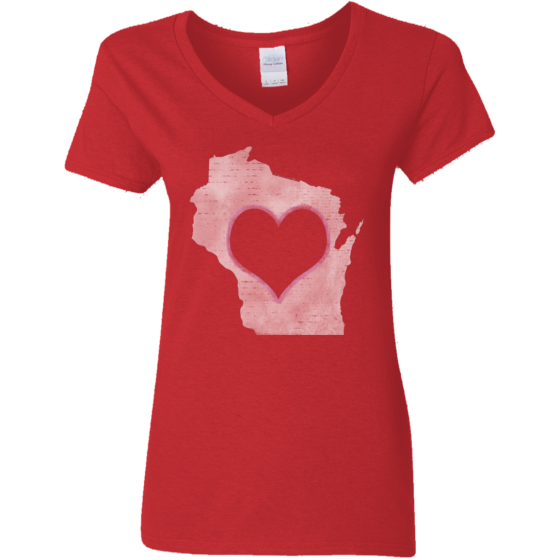 love wisconsin home tshirt