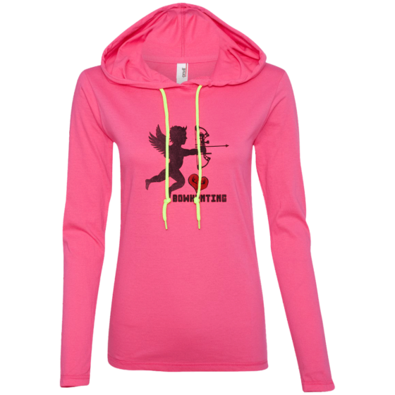 ladies bowhunting design t-shirt hoodie