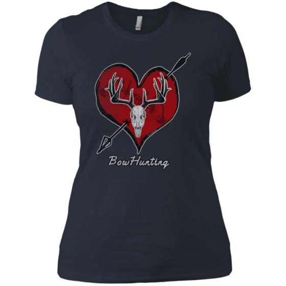 ladies bow hunting t-shirt for sale