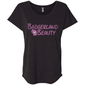 ladies badgerland beauty t shirt