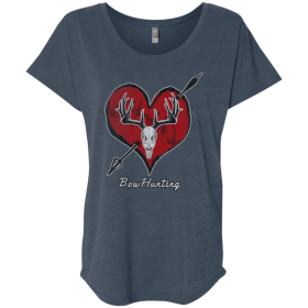 womens bow hunting tee