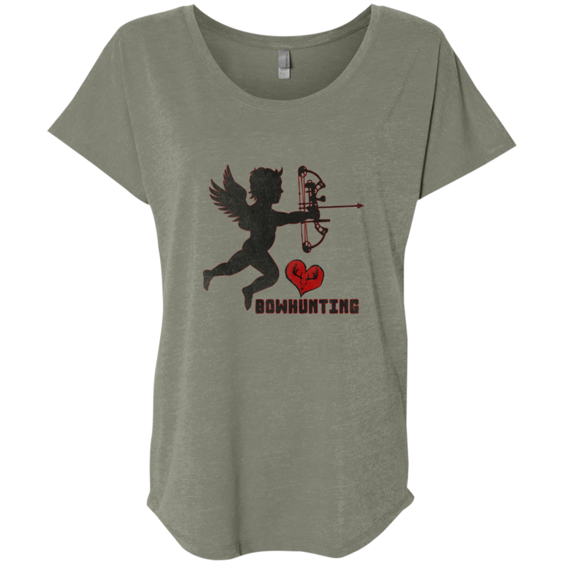 ladies bow hunting t shirt