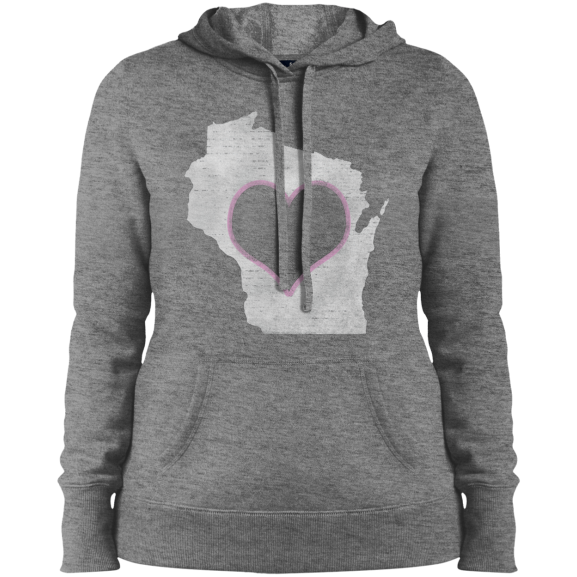 wi home state apparel hoodie