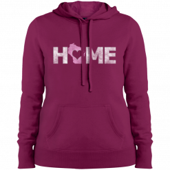home wisconsin womans hoodie