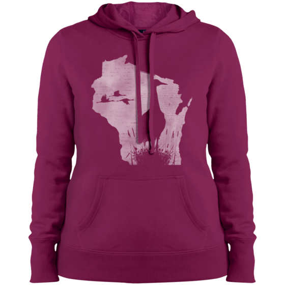 ladies sandhill crane hoodie