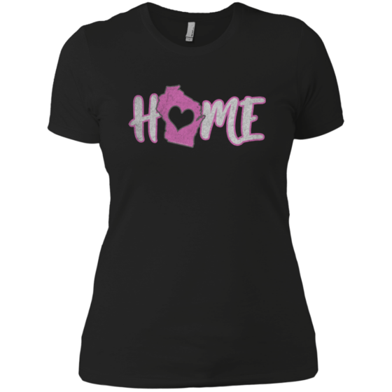 ladies wisconsin home state apparel