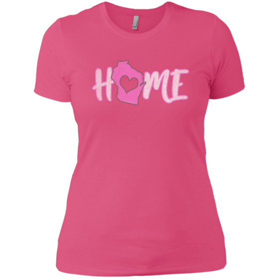 home wisconsin womans tee
