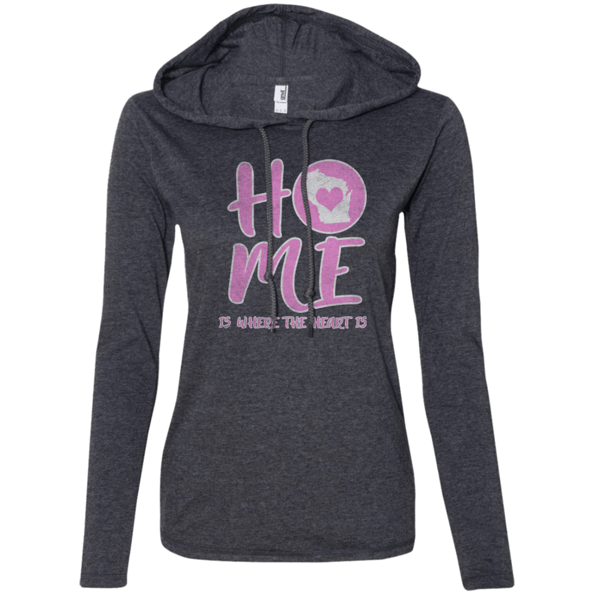 wisconsin home state apparel hoodie t-shirt