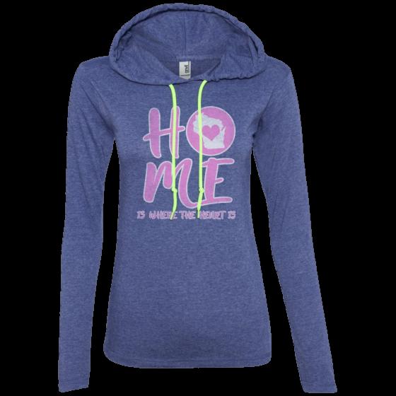 home in wisconsin hoodie t-shirt