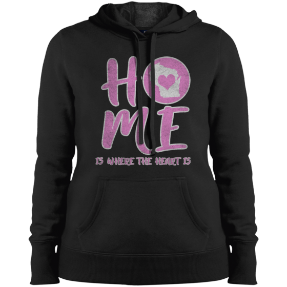 wisconsin home state apparel womens hoodie