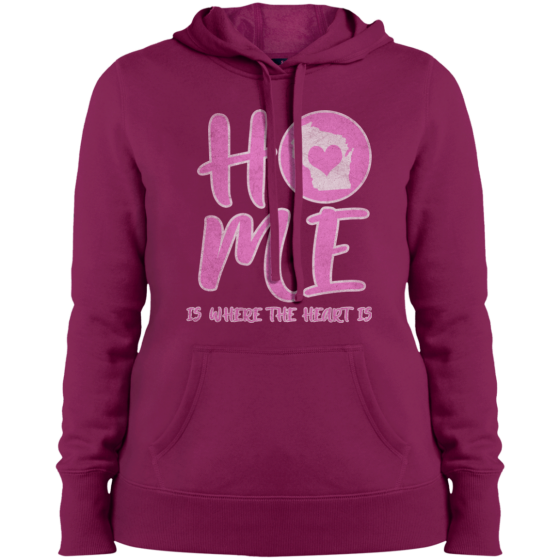 home in wi womens hoodie