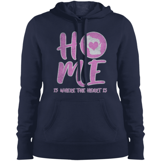 home state apparel wi womens hoodie