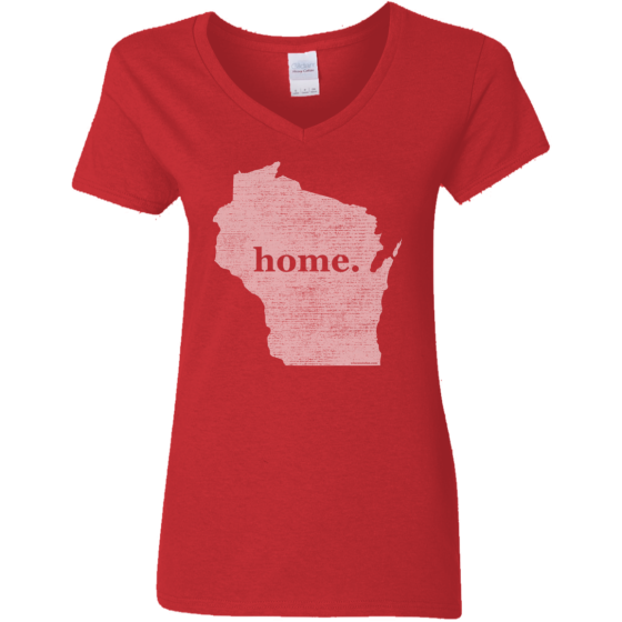 buy wisconsin home t t-shirts