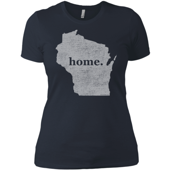 wisconsin home t tshirts ladies