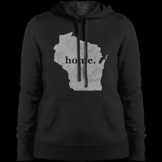 wi womens home hoodie sweatshirt