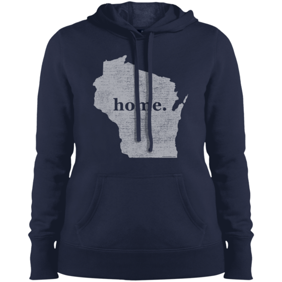 home t wisconsin hoodie