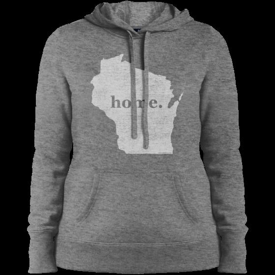 womens home t hoodie