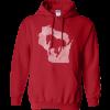 mens wisconsin horse hoodie