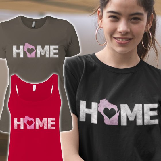 buy ladies home wi shirts