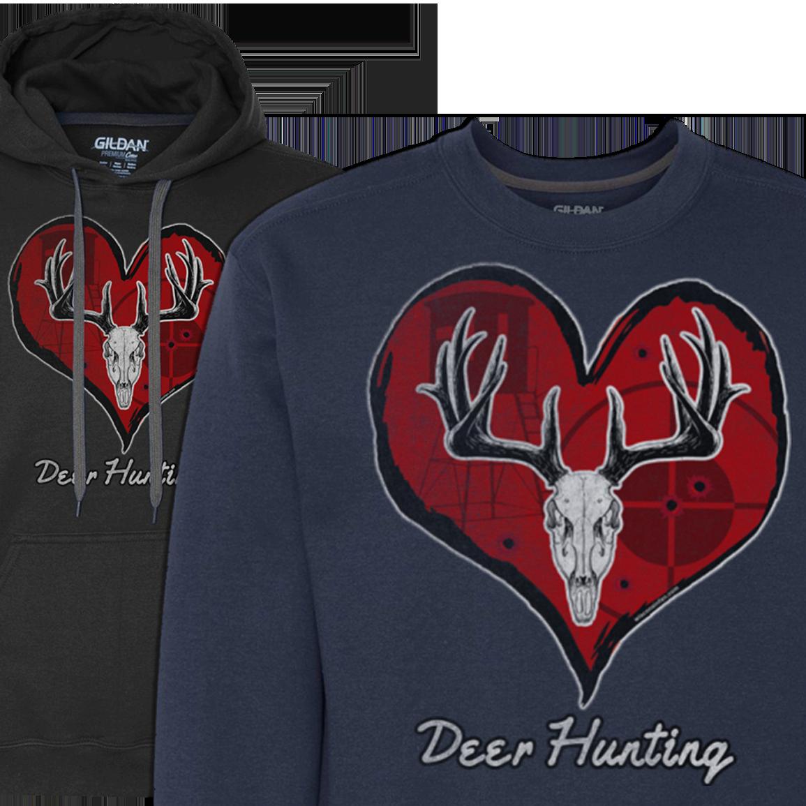 mens-love-deer-hunting-hoodie-sweatshirt