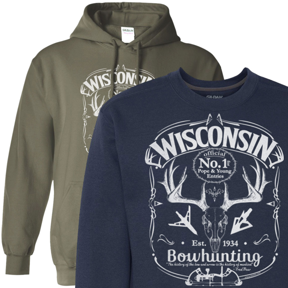 wi-bow-hunter-mens-hoodie-sweatshirt