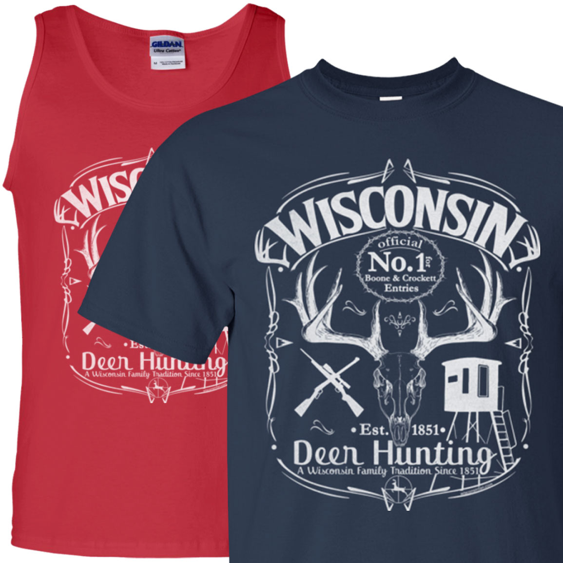 wi-deer-hunter-mens-tshirt