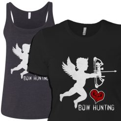 womens bowhunting tee design