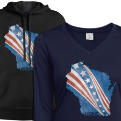 wi home womens hoody