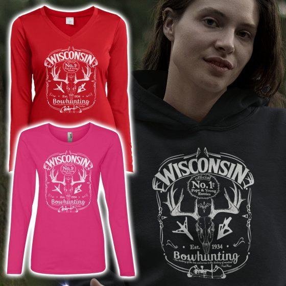 ladies-bow-hunter-hoodies