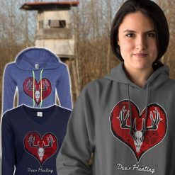 buy womens deer hunting hoodie design