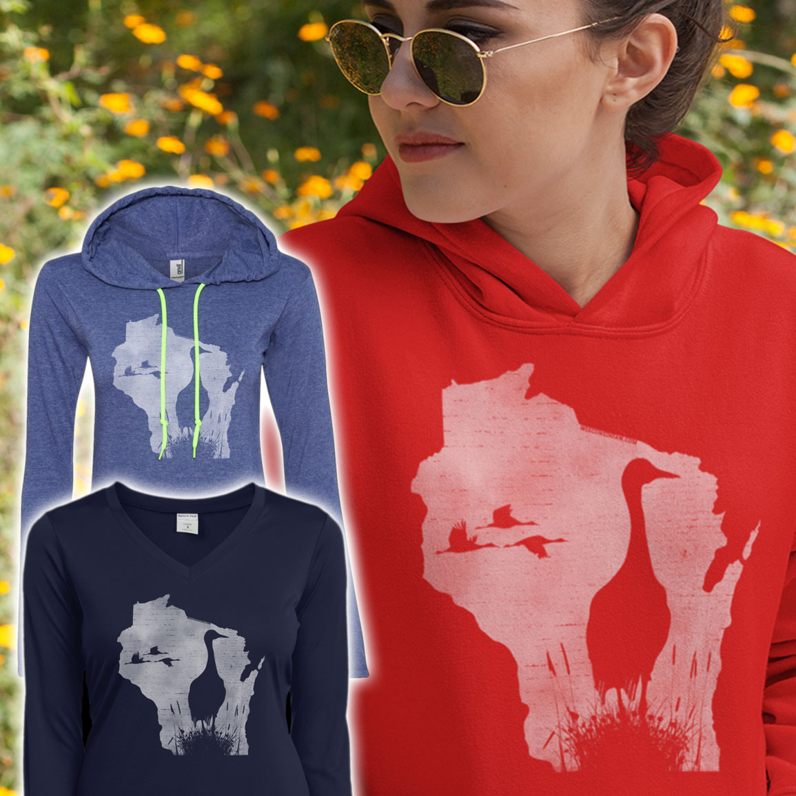 womans-sandhill-crane-hoodie
