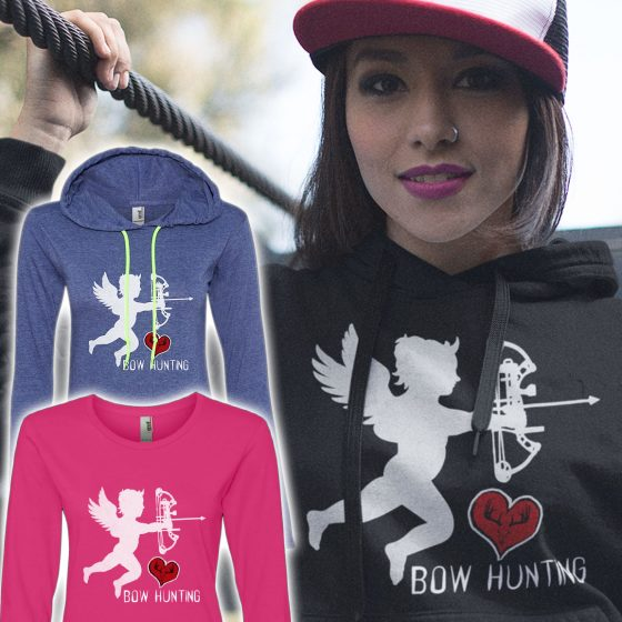 buy-womans-bowhunting-design-hoodie