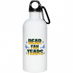 green bay packers metal water bottle