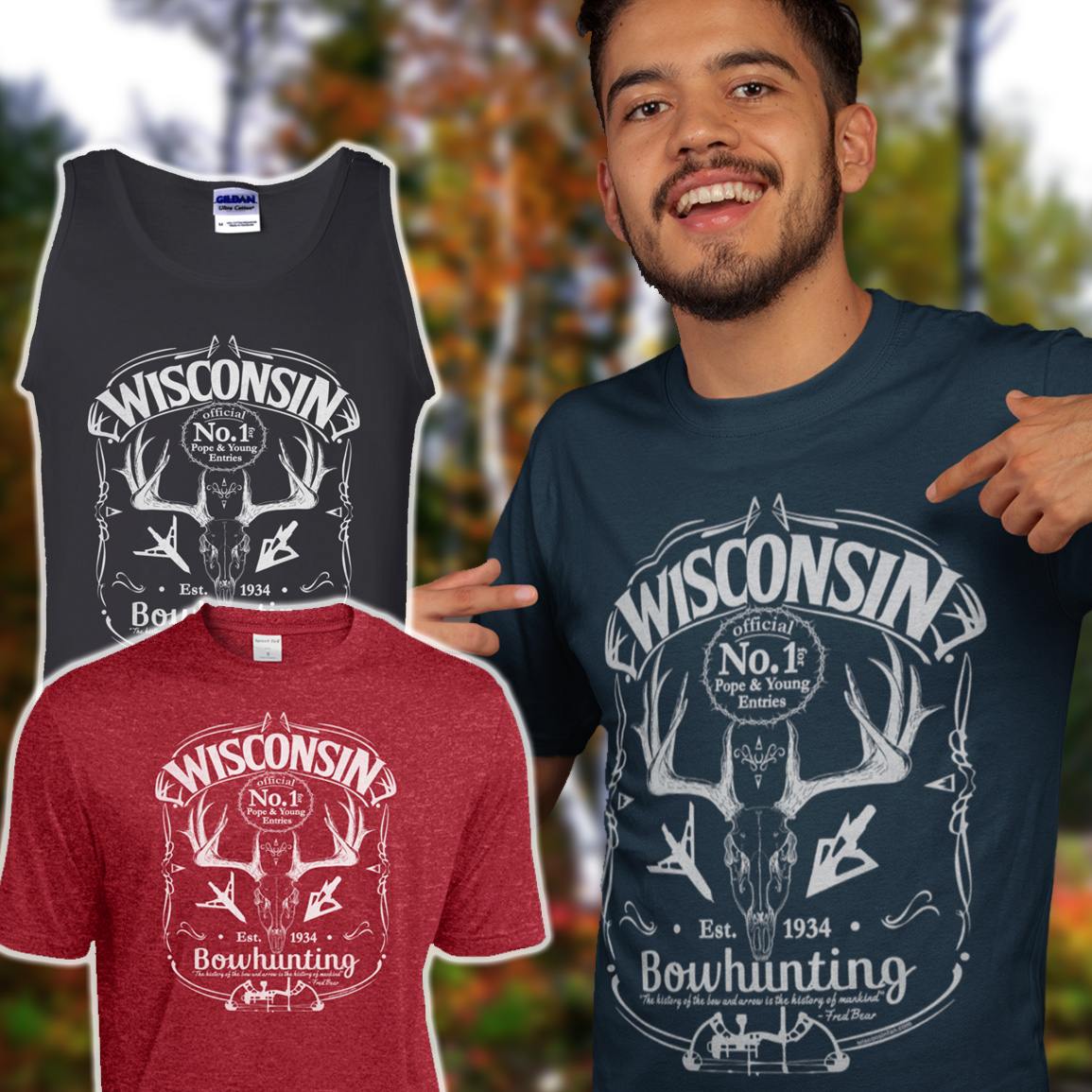 mens-wisconsin-bowhunting-tshirt