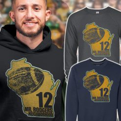 mr rodgers neighborhood mens hoodie