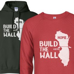 wisconsin home state apparel hoodie