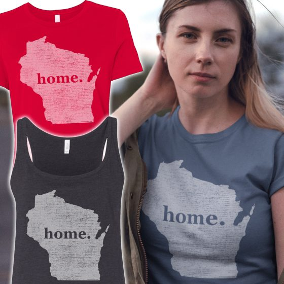 womans home wi tee shirts