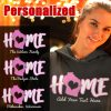 home wi personalized ladies hoodie