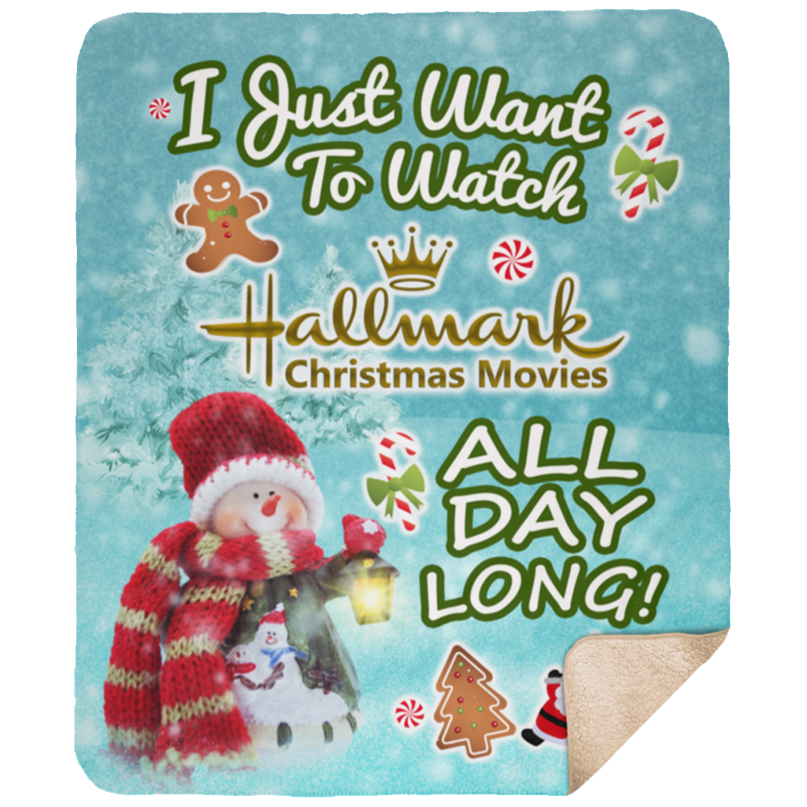 "WisconsinFan ""Hallmark Christmas Movies"" Premium XL"